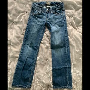 Girls Gap Straight Leg Jeans